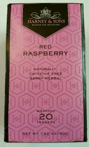 Red Raspberry Herbal Tea Harney & Sons Tea