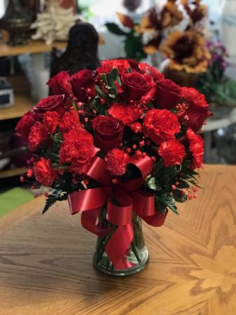 Blazing Splendor Bouquet Floral Arrangement