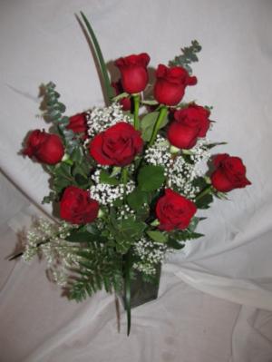 Red Romance Roses Abloom Original in Walkersville, MD   ABLOOM LTD