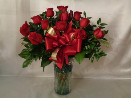 Expressions of Love Rose Arrangement