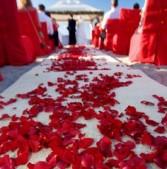 Red Romance Wedding
