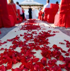 Red Romance Wedding