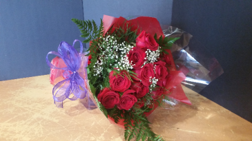 Valentine's Day Red Roses Bouquet