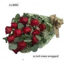 12 Red Rose Bouquet Rose Bouquet