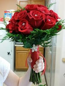 Red Rose Bridal Bqt In Bryson City Nc