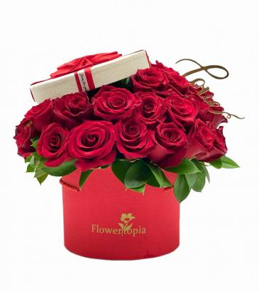 Coqueto Red Rose Box - New Product