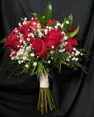 Red Rose Bridal Bouquet Bridal Bouquet