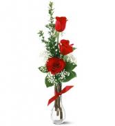 Red Rose Budvase Budvase