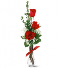 Red Rose Budvase Budvase