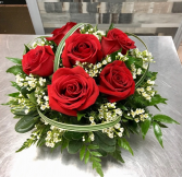 Red rose centerpiece centerpiece