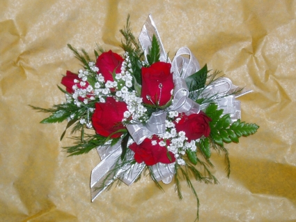 Red Rose Corsage Prom Corsage In Lincroft Nj Lincroft Fab Florist