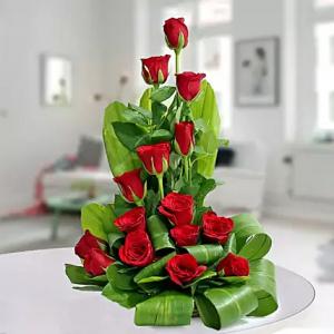 Red Rose Delight  in Sunrise, FL   FLORIST24HRS.COM