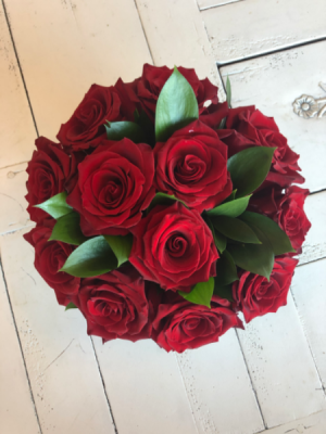 Red Rose Flower Box One Dozen Red Roses in Sparta, NJ | Bluet Flower Co.