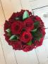 Red Rose Flower Box One Dozen Red Roses