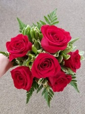 Red Rose Handtied Bouquet