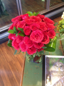 red rose Love 3 doz. roses any color