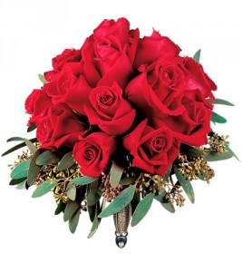 Red Rose Nosegay HF1672