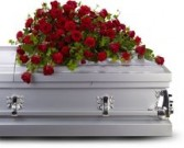 red rose reverence casket T225-3B