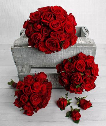 Red Rose Wedding Package In
