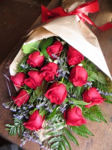 Mom & Pop's Red Rose Wrap Exclusively at Mom & Pops in Ventura, CA | Mom And Pop Flower Shop