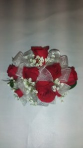 Red Rose Wrist Corsage Wrist Corsage