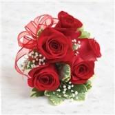 Red rose wristlet Red rose wristlet