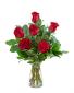 Red Roses (6) Flower Arrangement