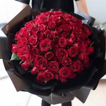 Timeless Love  Red Roses - Valentines