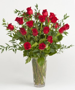 Red Roses Arranged Arrangement in Brattleboro, VT | WINDHAM FLOWERS