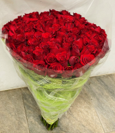 Red Roses bouquet Birthday