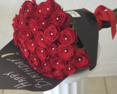 Red Roses Bouquet Bouquet