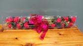 RED ROSES Boxed Dozen Fancy