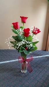 Red Roses for Christmas
