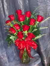 Red Roses Fresh