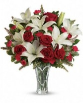 Red Roses & Lilies Mother's Day Feature!