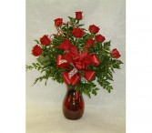 Red Roses Say I Love You dozen roses