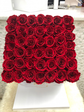 49 Red Roses That Last A Year Preserved Roses