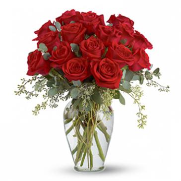 Red Roses Vases