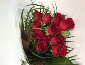 Red Roses Wrapped Red Rose Special  in Kelowna, BC | BLOOMERS FLORAL DESIGNS & GIFTS