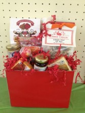Red Sensation Gourmet Basket