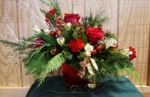 Red Sleigh Christmas