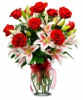Red Star  Valentine's Day Flowers