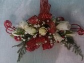 Red Surprise Wristlet  Corsage