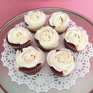 Red Velvet Cheesecake Cupcakes Sweet Blossoms  in Greensboro, NC | BLOSSOMS & SWEET BLOSSOMS