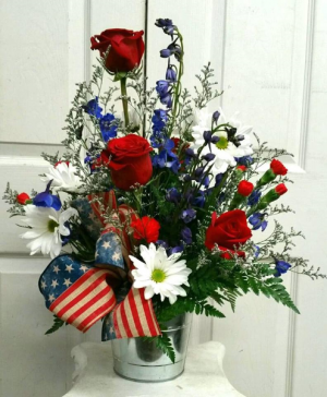 Red, White, and Blue-tiful Summer in Mount Pleasant, TX | DESIGNS BY LISA