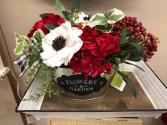 Red White Black Flowers & Garden
