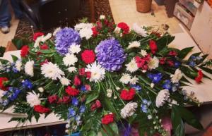 Red White & Blue   in Roanoke, VA | Flowers By Eddie