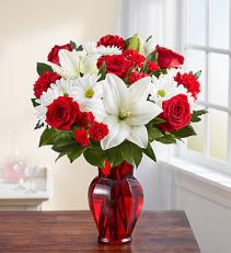 Red & White Delight™ Arrangement
