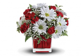 Red & White Delight Bouquet
