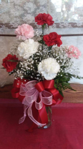 12 Carnation Arrangement